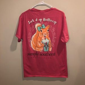 Simply Southern suck it up buttercup shirt